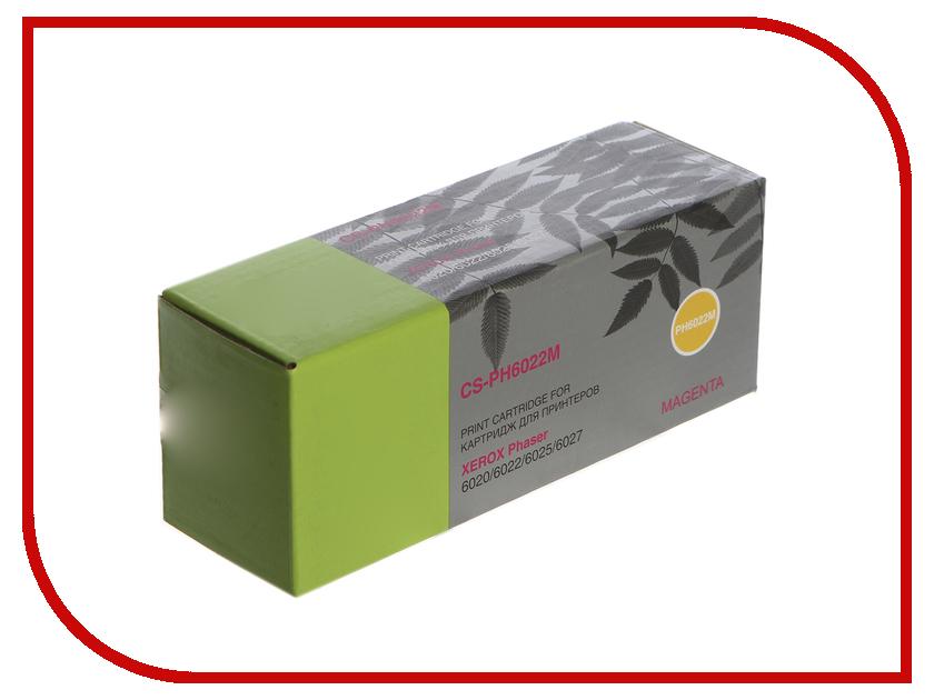 Картридж Cactus Magenta CS-PH6022M для Phaser 6020/6022/WC 6025/6027 цены онлайн