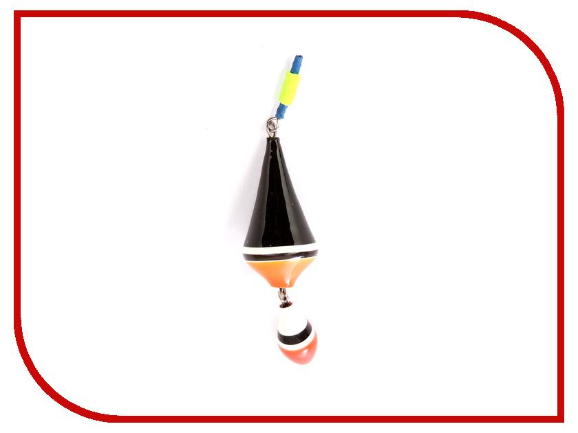Поплавок Super Balsa 002-25 2.5гр Двойной (10шт) Black 002-25Ч