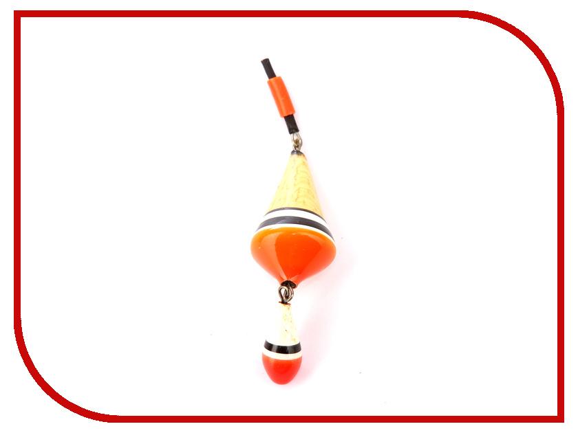 Поплавок Super Balsa 002-25 2.5гр Двойной (10шт) Transparent 002-25П