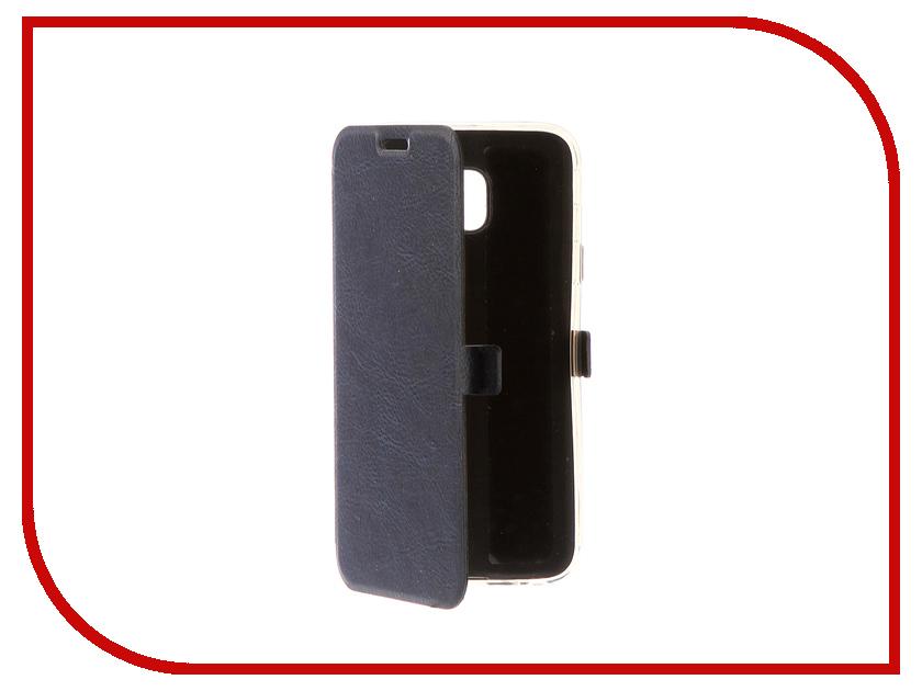 Аксессуар Чехол для Samsung Galaxy J3 2017 CaseGuru Magnetic Case Azure Blue 99902 аксессуар чехол samsung j3 2017 j330f zibelino clear view black zcv sam j330 blk