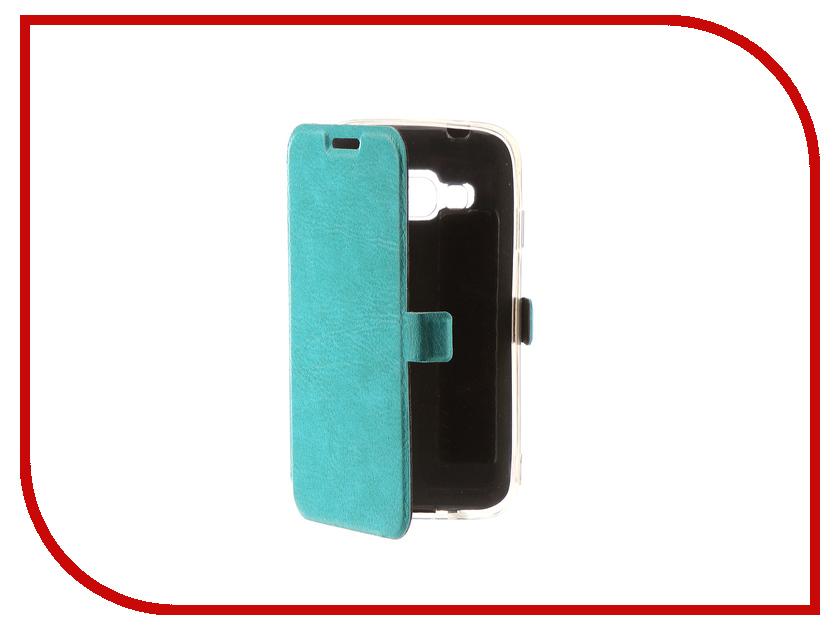 Аксессуар Чехол для Samsung Galaxy J1 Mini Prime CaseGuru Magnetic Case Turquoise 100464