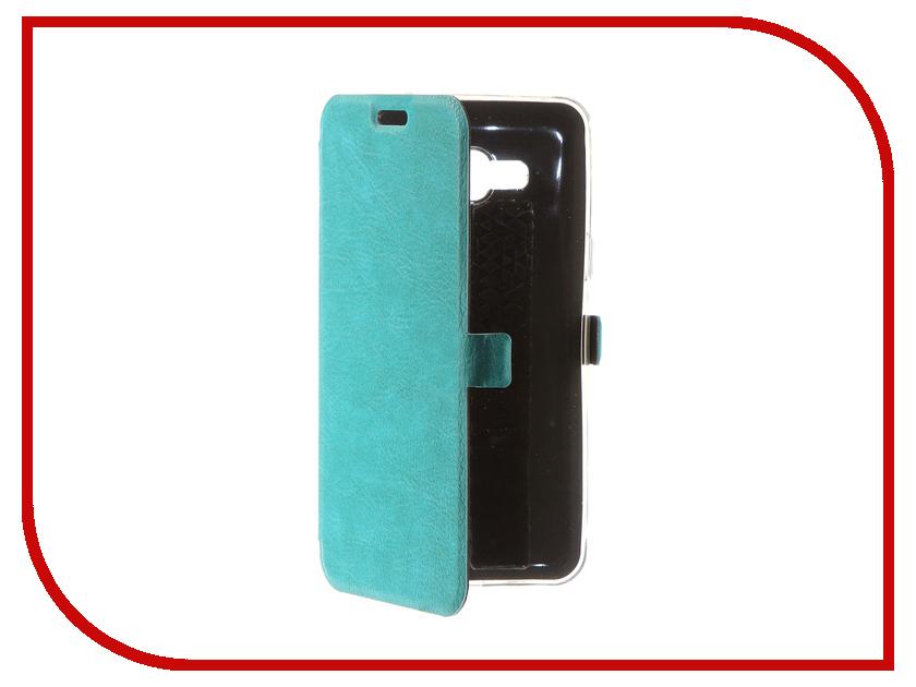 Аксессуар Чехол для Samsung Galaxy J3 2016 CaseGuru Magnetic Case Turquoise 100476