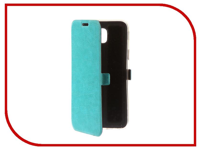 Аксессуар Чехол Samsung Galaxy J5 2017 CaseGuru Magnetic Case Turquoise 99907 аксессуар чехол samsung galaxy j5 prime g570 celly air case black air640bk