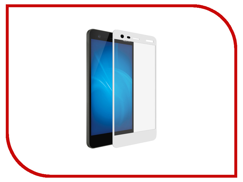 Аксессуар Защитное стекло для Nokia 2 DF Full Screen nkColor-05 White for lenovo zuk z2 lcd screen display with touch screen digitizer panel glass assembly black white replacement parts free shipping