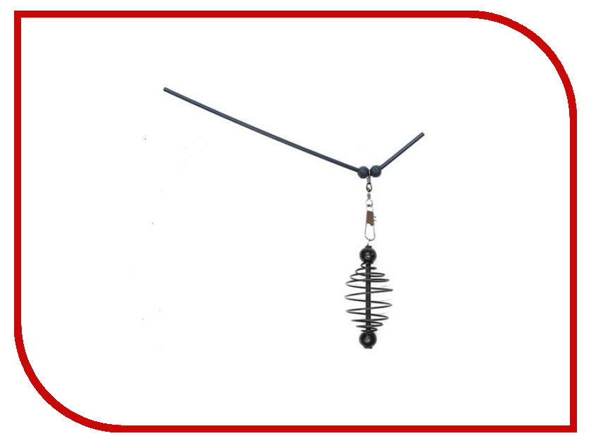 Кормушка Пирс Витая с антизакручивателем l-25cm 2x11g (10шт) 13-16-1540 кормушка пирс стальная прямоугольная 40g 10шт