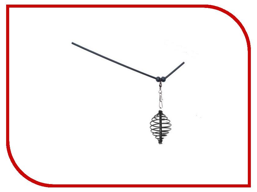 Кормушка Пирс Витая с антизакручивателем l-15cm Без груза (10шт) 13-16-1421 кормушка пирс стальная прямоугольная 40g 10шт