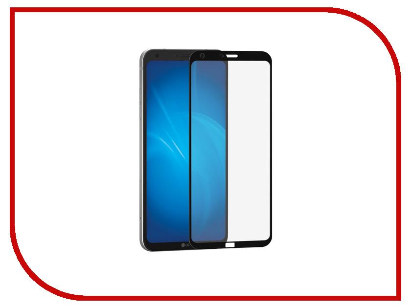 Аксессуар Защитное стекло LG Q6 DF Full Screen LGColor-04 Black аксессуар защитное стекло meizu u10 solomon full cover black