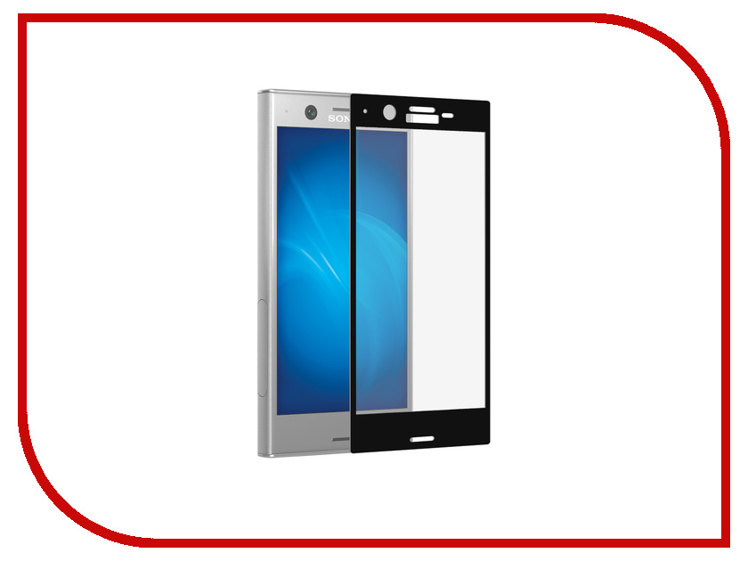 Аксессуар Защитное стекло для Sony Xperia XZ1 DF Full Screen xColor-10 Black аксессуар защитное стекло для sony xperia xz1 brosco full screen black xz1 glass black