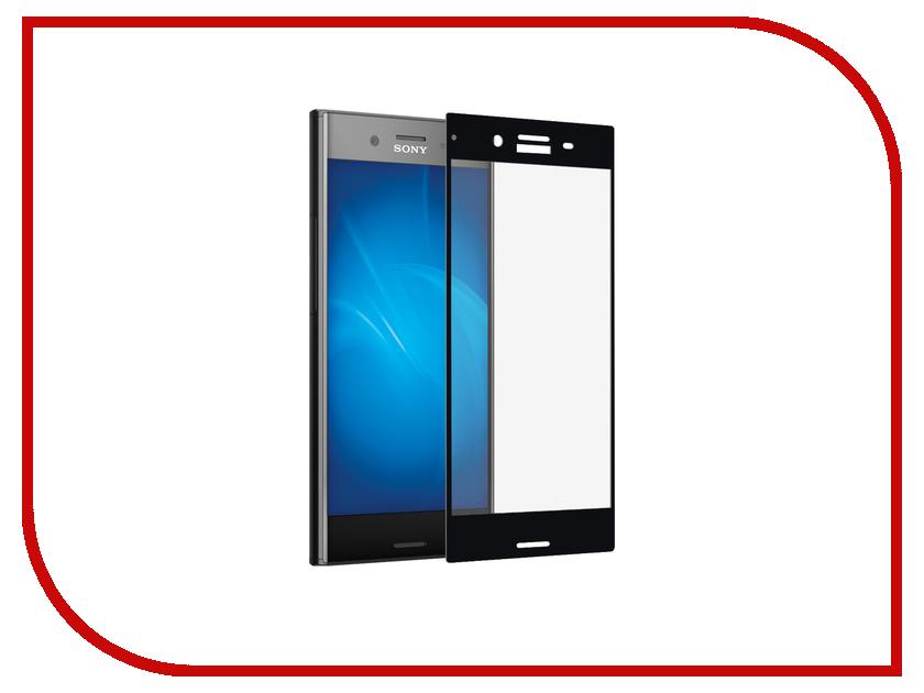 Аксессуар Защитное стекло Sony Xperia XZs DF Full Screen xColor-09 Black аксессуар защитное стекло meizu u10 solomon full cover black