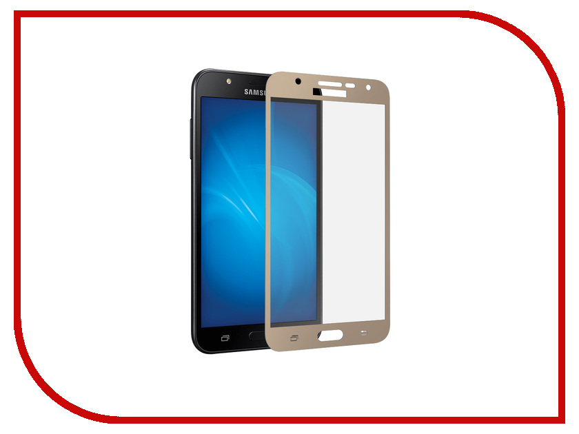 Аксессуар Защитное стекло Samsung Galaxy J7 Neo DF Full Screen sColor-30 Gold df scolor 08
