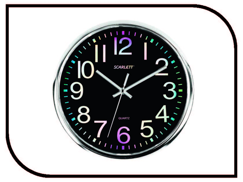 Часы Scarlett SC-WC1010O scarlett sc mc410s14 мультиварка