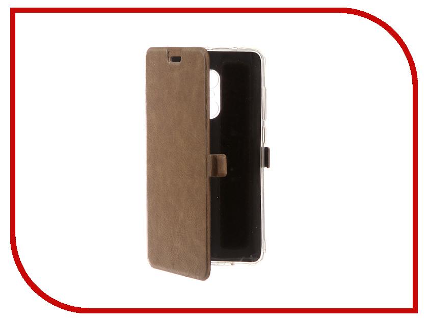 все цены на Аксессуар Чехол для Xiaomi Redmi Note 4 CaseGuru Magnetic Case Light Brown 99977