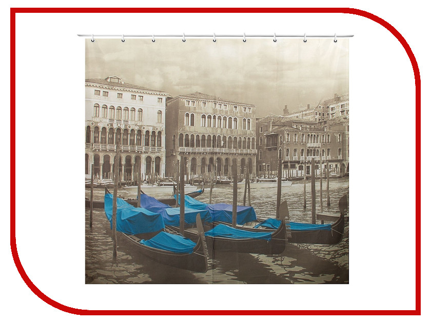 Шторка Доляна Венеция 180x180cm 1385713 венеция