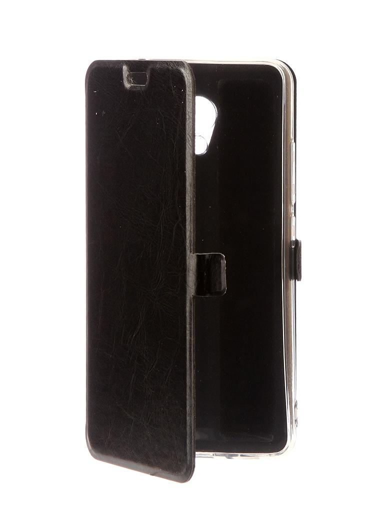 Чехол CaseGuru Magnetic Case Glossy для Meizu M5c Black 100542