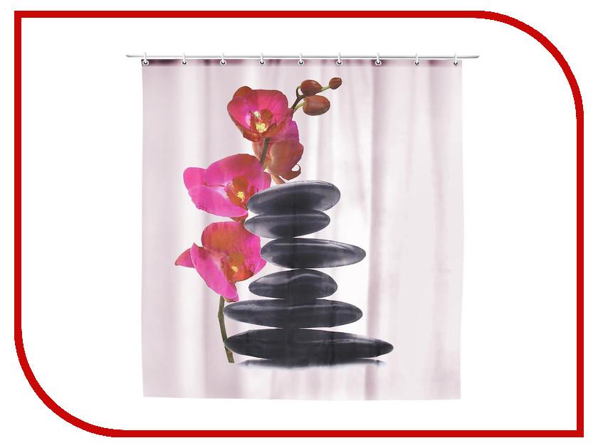 Шторка Доляна и орхидея 180x180cm 911880
