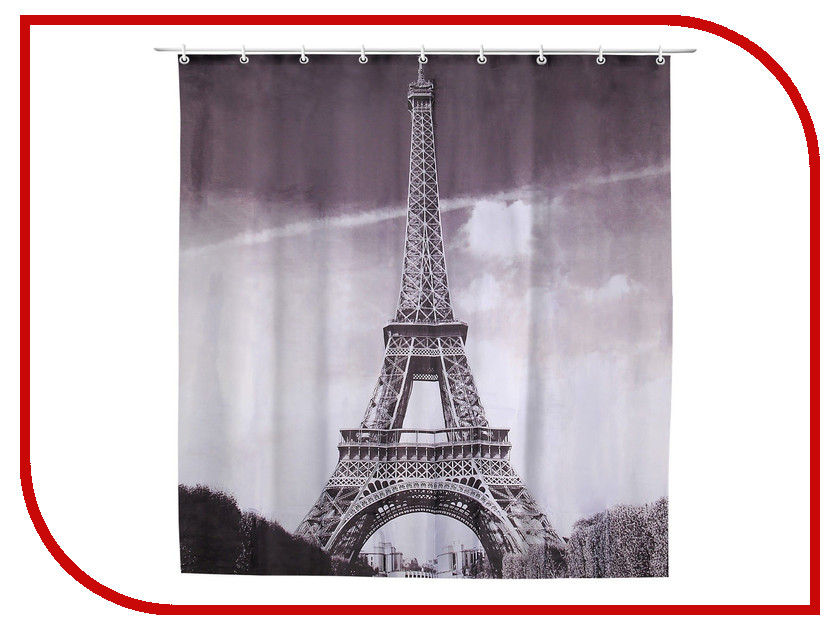 Шторка Доляна Париж 180x180cm 911877 платье париж