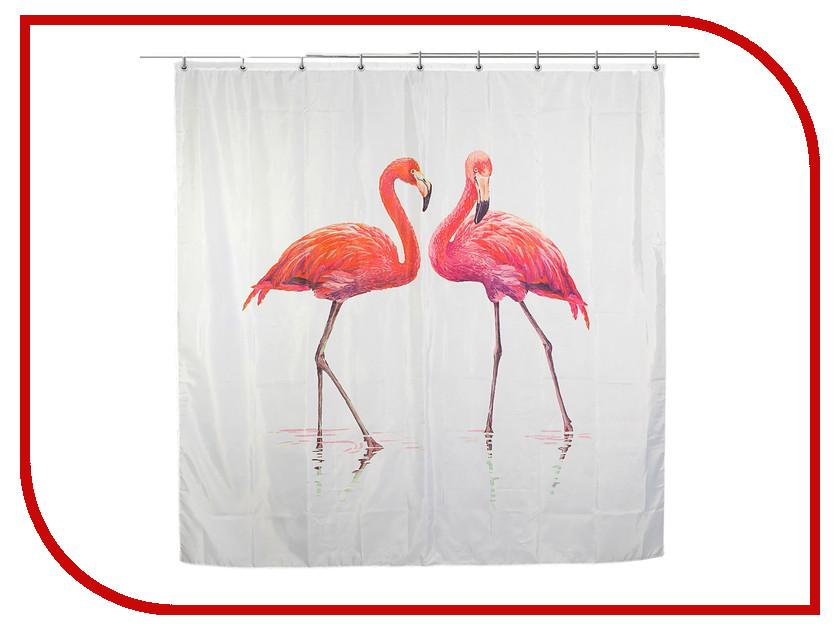 Шторка Доляна Фламинго 180x180cm 2185723