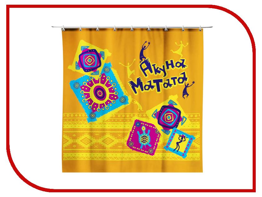 Шторка СИМА-ЛЕНД Акуна матата 170x175cm 856726 король лев 3 акуна матата dvd книга