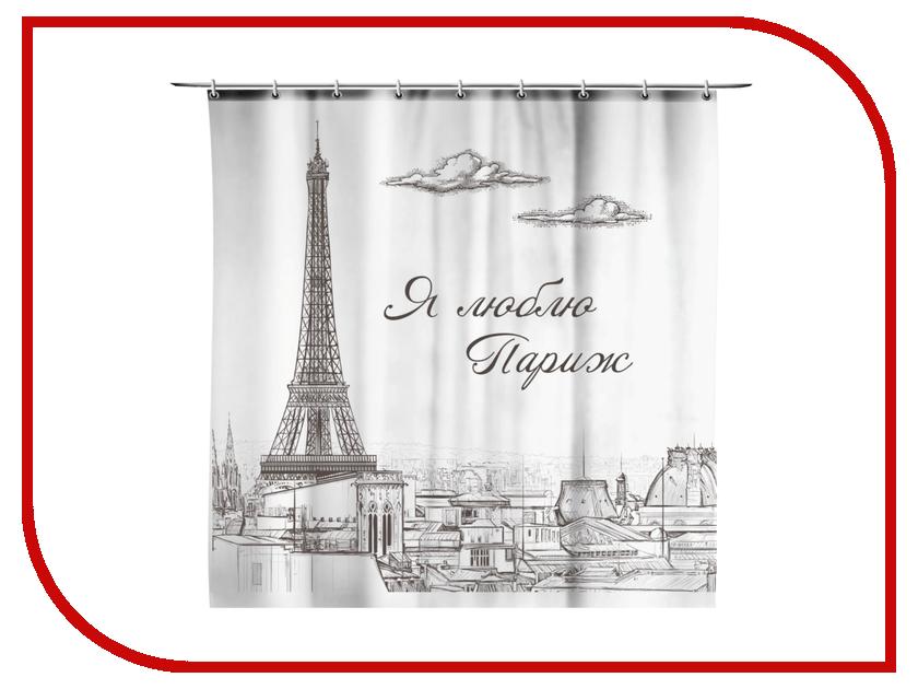 Шторка СИМА-ЛЕНД Я люблю Париж 170x175cm 856736 ленд крузер прадо 78 продаю
