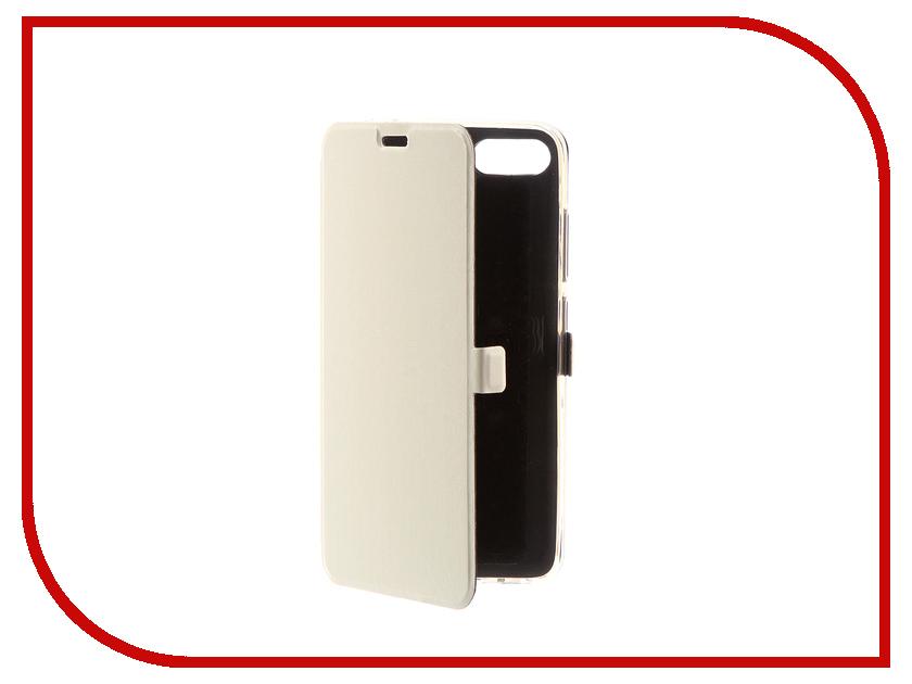 Аксессуар Чехол ASUS Zenfone 4 Max ZC554KL CaseGuru Magnetic Case Glossy White 100561 аксессуар чехол asus zenfone 4 max zc554kl svekla black fl svaszc554kl bl