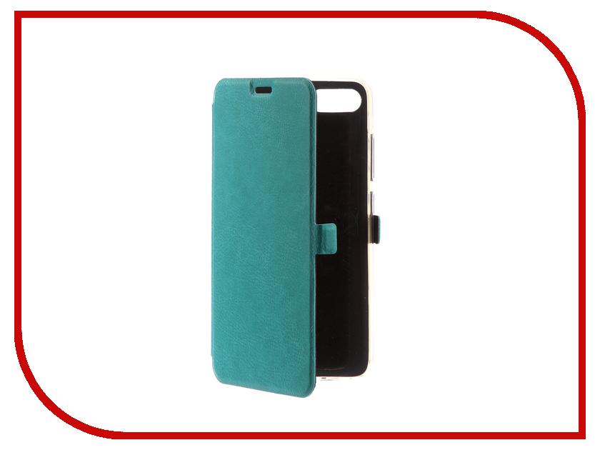 Аксессуар Чехол для ASUS Zenfone 4 Max ZC554KL CaseGuru Magnetic Case Turquoise 100560 romana мф 1 2 04 02