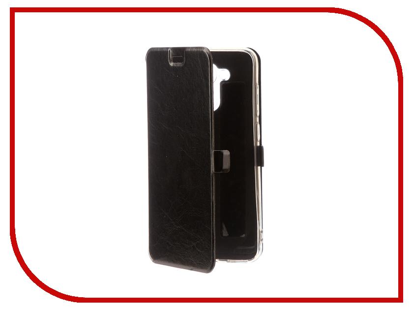 Аксессуар Чехол для Huawei Honor 6C Pro CaseGuru Magnetic Case Glossy Black 101441 highscreen boost 3 pro black
