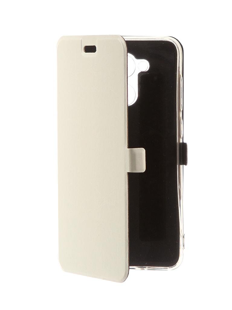 Аксессуар Чехол CaseGuru для Honor 6C Pro Magnetic Case Glossy White 101436 цена
