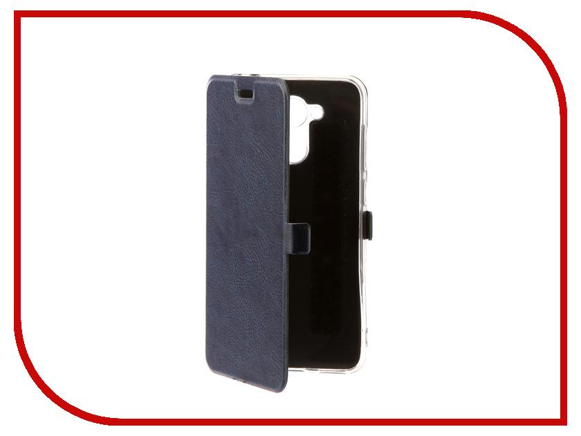 Аксессуар Чехол для Huawei Honor 6C Pro CaseGuru Magnetic Case Azure Blue 101442