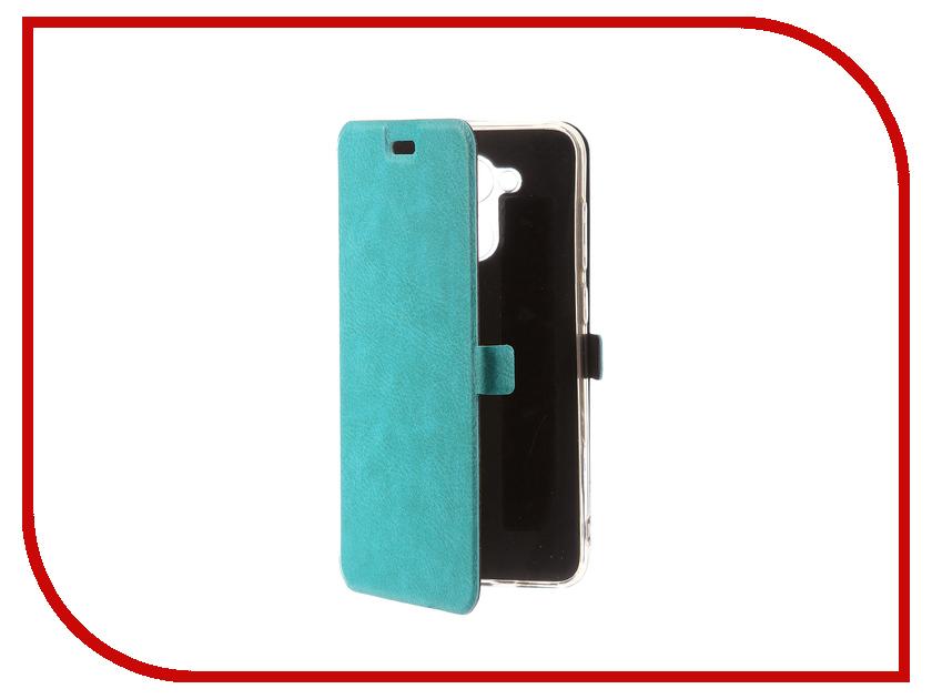 Аксессуар Чехол для Huawei Honor 6C Pro CaseGuru Magnetic Case Turquoise 101435 inov 8 куртка race elite 300 softshell pro w xl turquoise black barberry