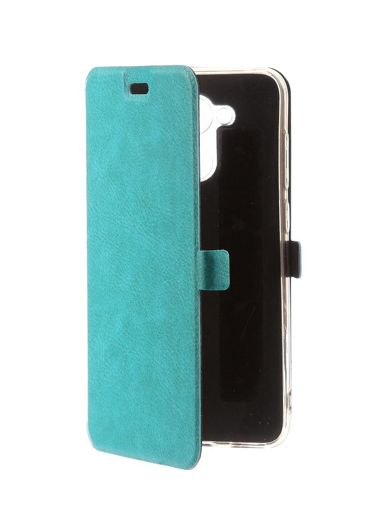 Аксессуар Чехол CaseGuru для Honor 6C Pro Magnetic Case Turquoise 101435 чехол для huawei y9 2018 caseguru magnetic case синий