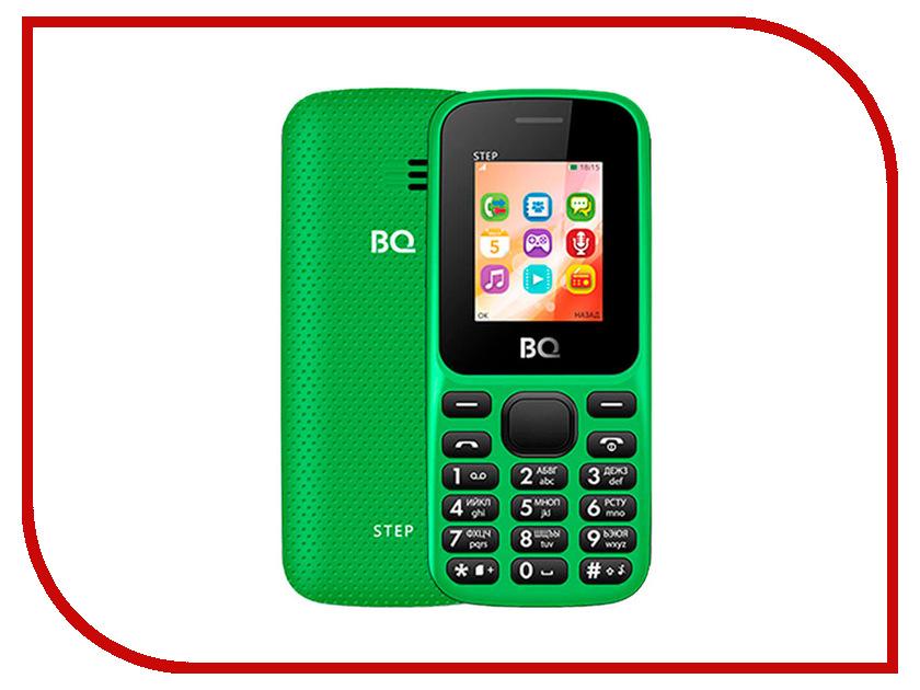 Сотовый телефон BQ 1805 Step Green сотовый телефон philips e311 xenium navy