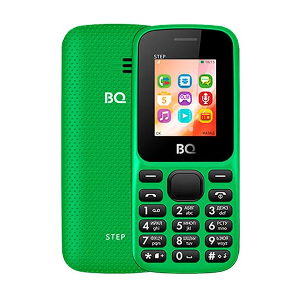 Сотовый телефон BQ 1805 Step Green сотовый