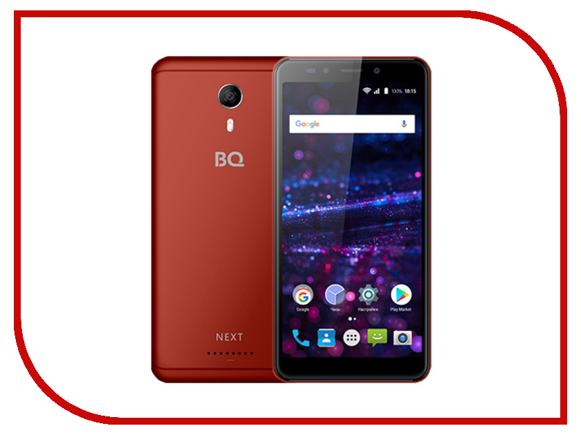 Сотовый телефон BQ 5522 Next Red сотовый телефон philips e311 xenium navy