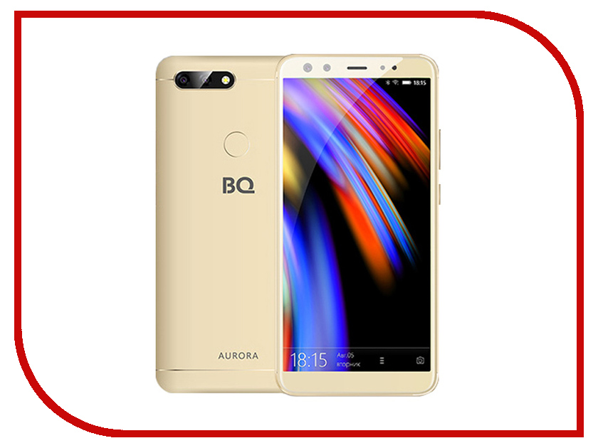 Сотовый телефон BQ 6000L Aurora Gold мобильный телефон bq m 1565 hong kong silver