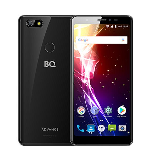 Сотовый телефон BQ 5500L Advance Black смартфон bq bq 5500l advance lte black