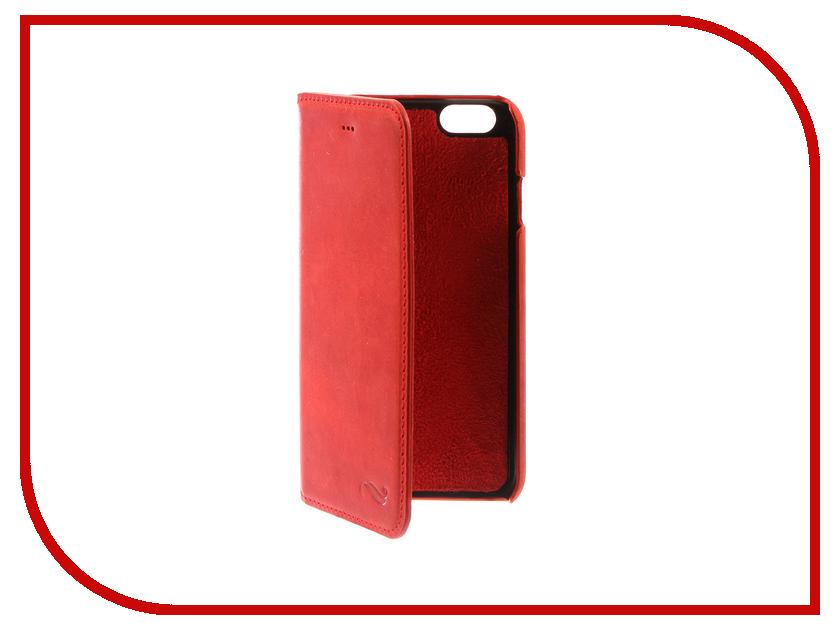 Аксессуар Чехол-книжка Antic Ultimate для APPLE iPhone 6 / 6S Red MCANUBRG4I62 чехол для iphone 6 глянцевый printio сад на улице корто сад на монмартре ренуар