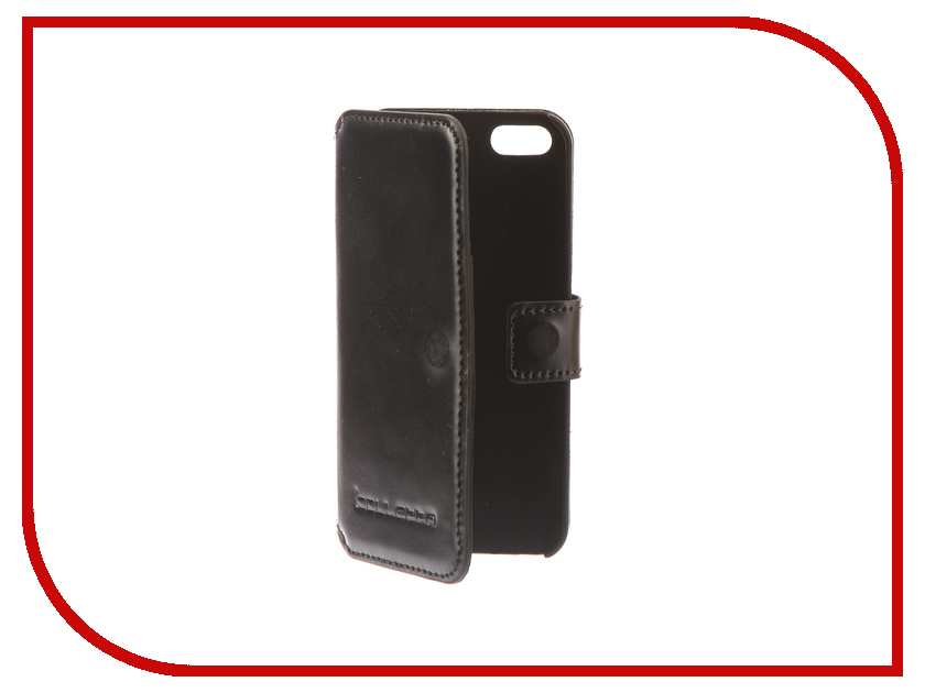Аксессуар Чехол-книжка Bouletta Wallet для APPLE iPhone 5 / 5S / SE Black MCWLBLSA1I5 apple iphone 5 в китае