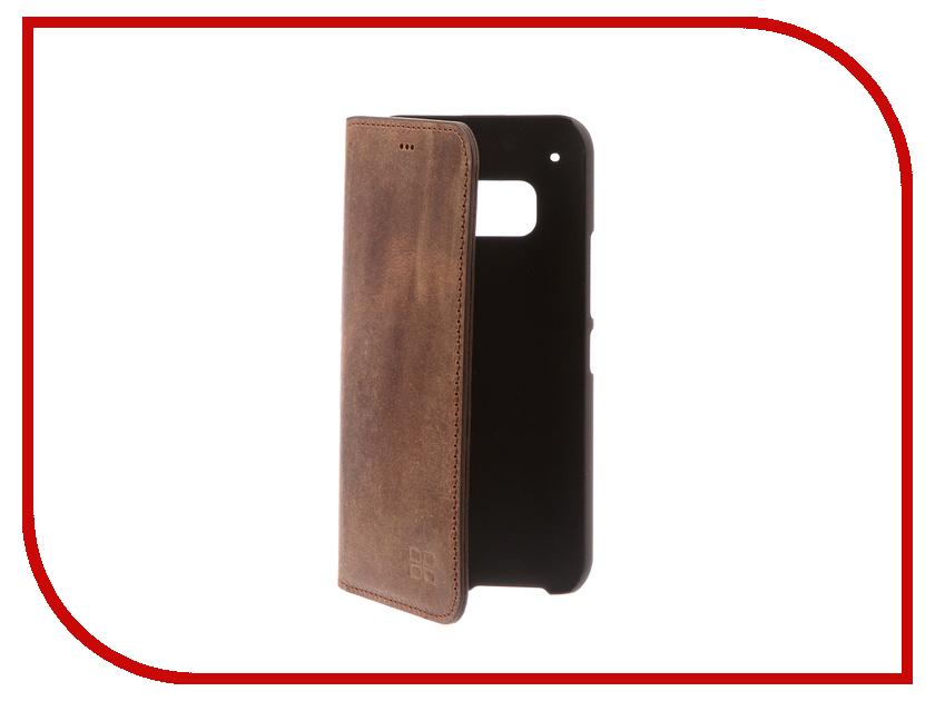 Аксессуар Чехол HTC One M9 Bouletta Brown MCBCBRG6M9 чехол книжка боковой с окошком для htc one m9 boostar белый