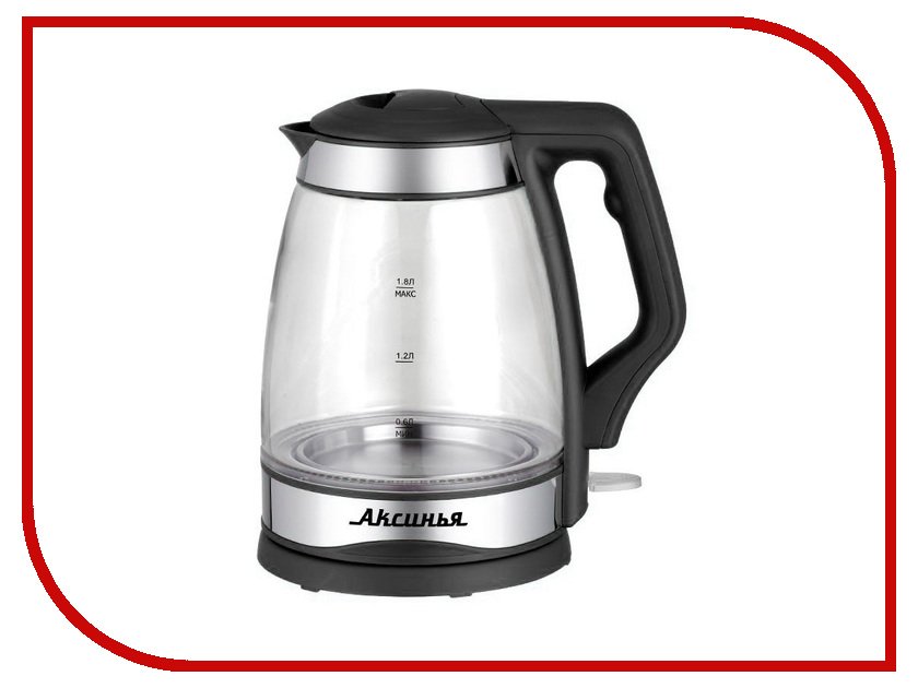 Чайник Аксинья КС-1000 Black админа в кс 1 6 бесплатно