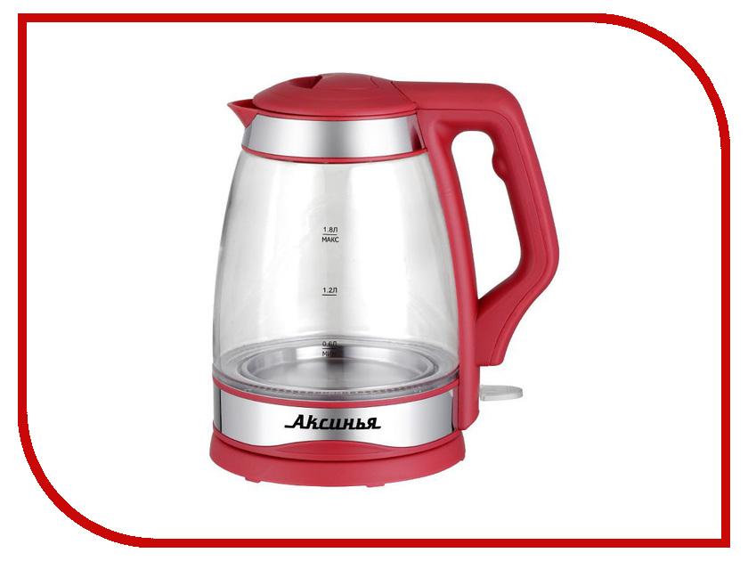 Чайник Аксинья КС-1001 Red админа в кс 1 6 бесплатно