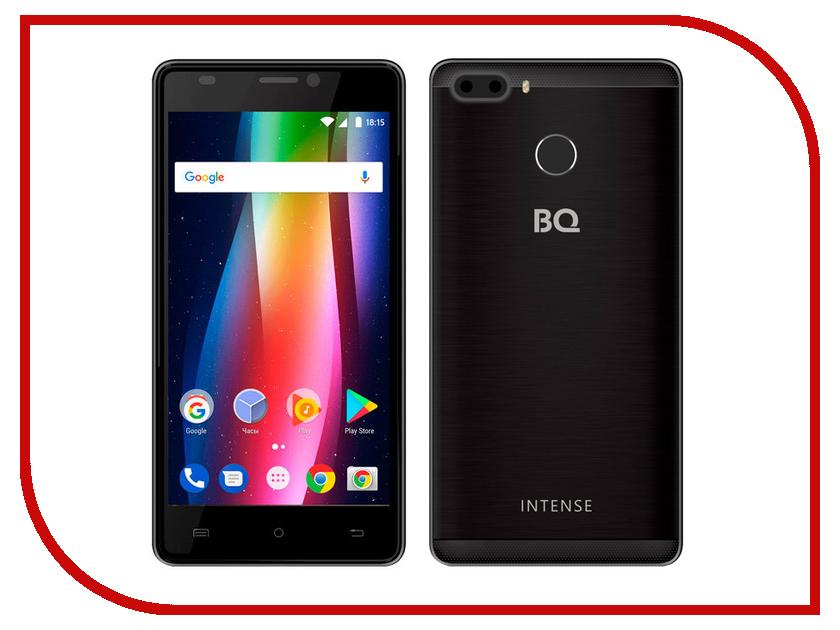 Сотовые / мобильные телефоны, смартфоны 5005L Intense  Сотовый телефон BQ 5005L Intense Black Brushed