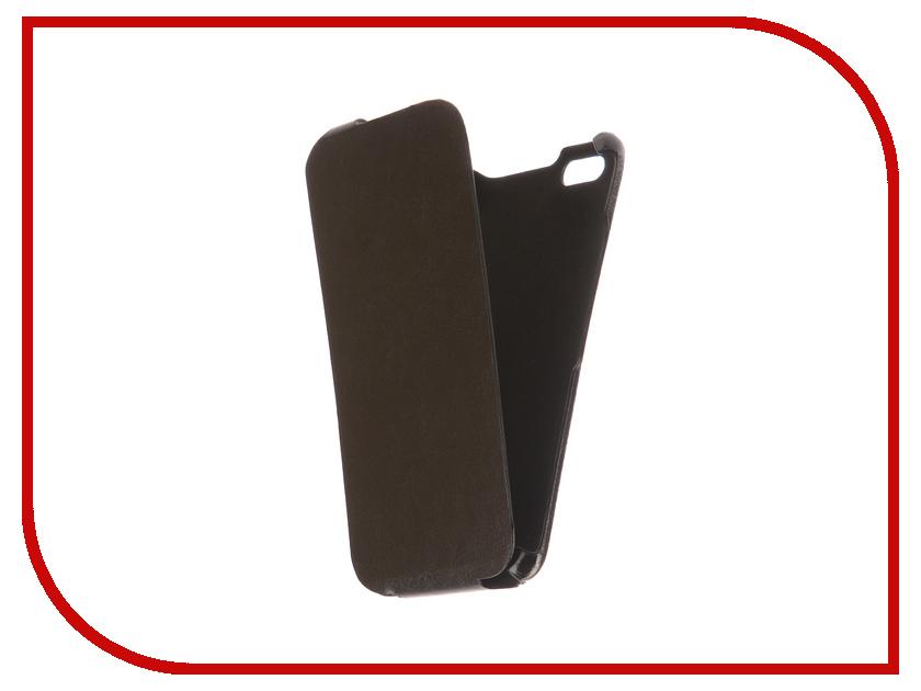 Аксессуар Чехол BQ BQS-5525 Practic Экокожа Black телефон bq bqs 5003 colombo ii black