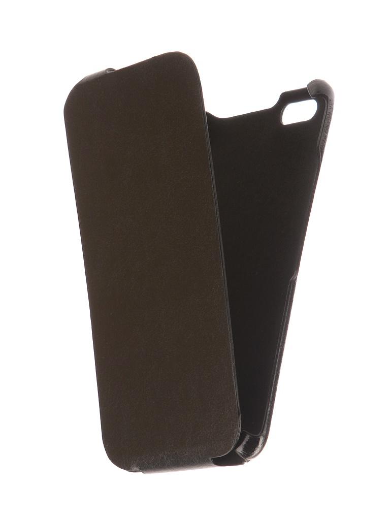Аксессуар Чехол для BQ BQS-5525 Practic Экокожа Black телефон bq bqs 4707 montreal black
