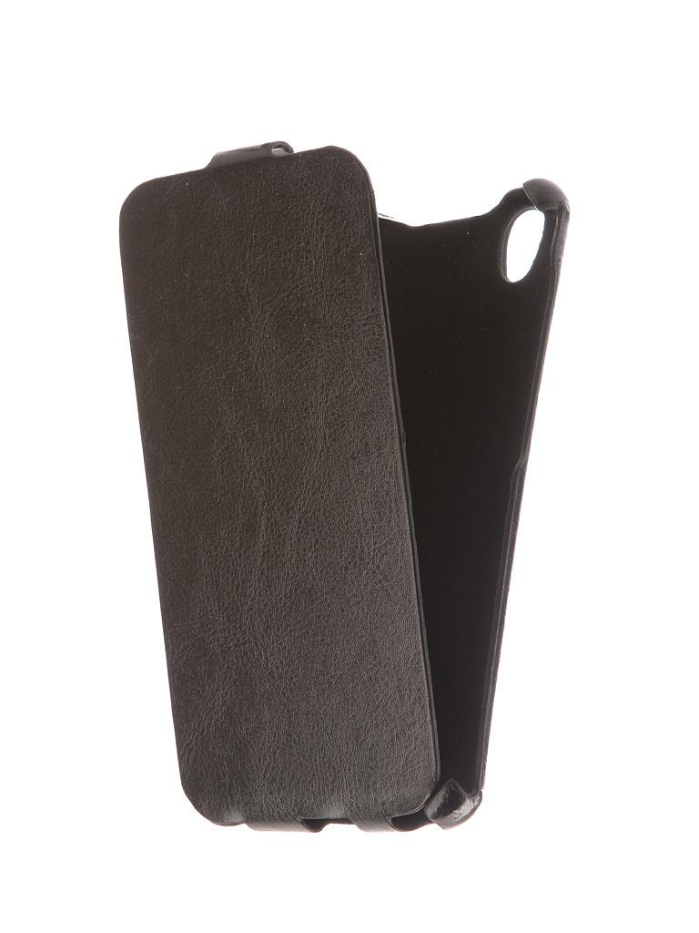 Аксессуар Чехол для BQ BQS-5503 Nice 2 Экокожа Black телефон bq bqs 4707 montreal black