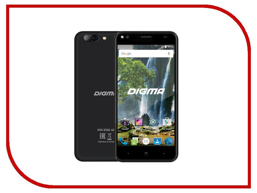 Сотовый телефон Digma VOX E502 4G Black