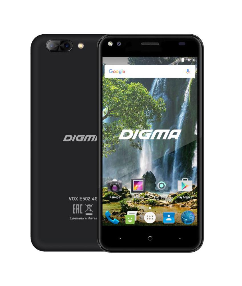 Сотовый телефон Digma VOX E502 4G Black vox vss 1 bk