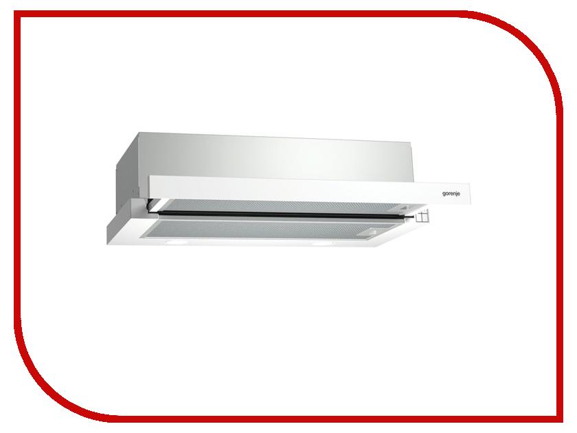 Кухонная вытяжка Gorenje BHP623E11W встраиваемая вытяжка gorenje bhp 623 e 11 b