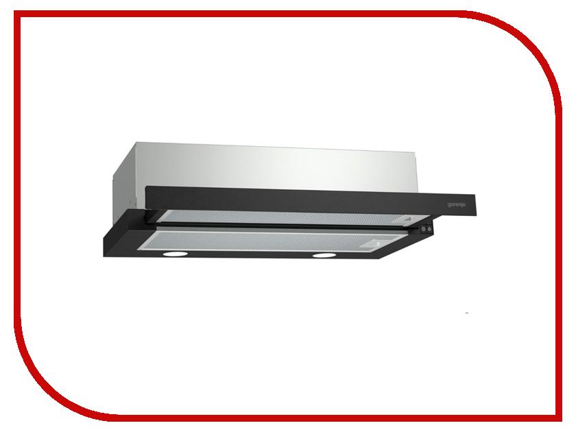 Кухонная вытяжка Gorenje BHP623E11B встраиваемая вытяжка gorenje bhp 623 e 11 b