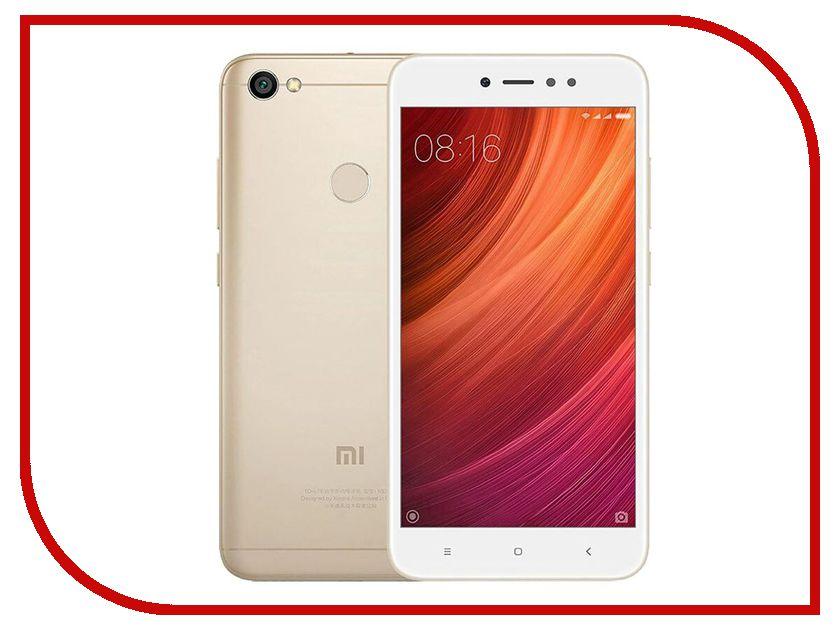 Сотовый телефон Xiaomi Redmi Note 5A Prime 3Gb RAM 32Gb Gold сотовый телефон xiaomi redmi 4a 2gb ram 32gb grey