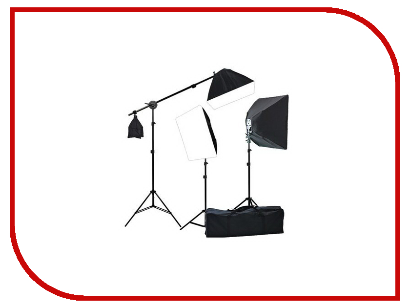 Комплект студийного света FST 001 цена
